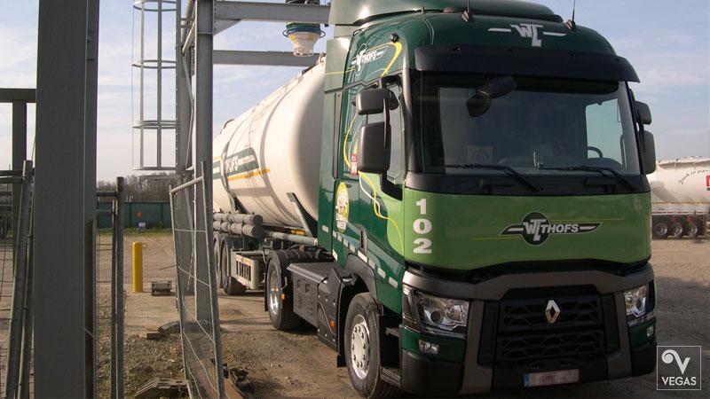 Bestickering vrachtwagens